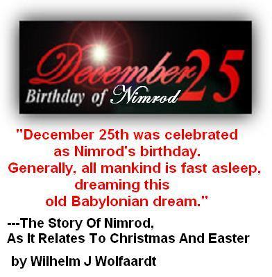 DECEMBER 25 NIMROD